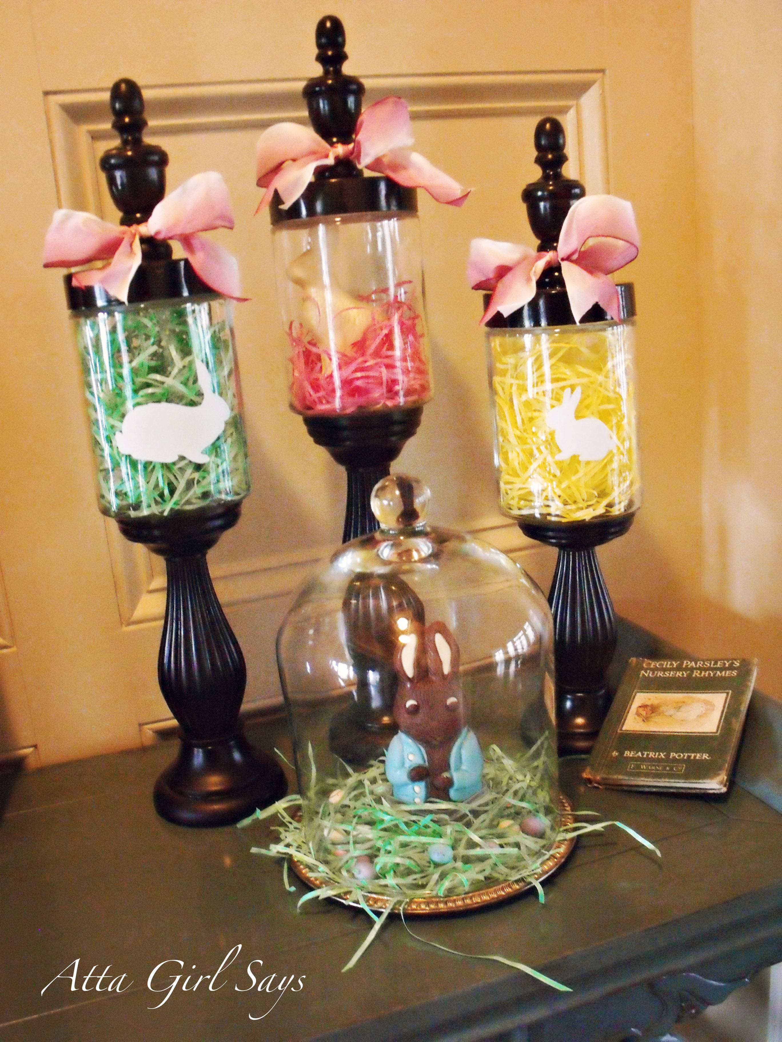 Atta Girl Amy's Homemade Easter Decor Atta Girl Says